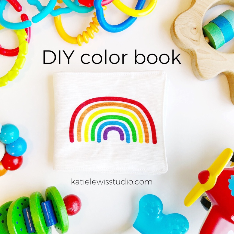 DIY Soft Fabric Color Book – katie lewis studio